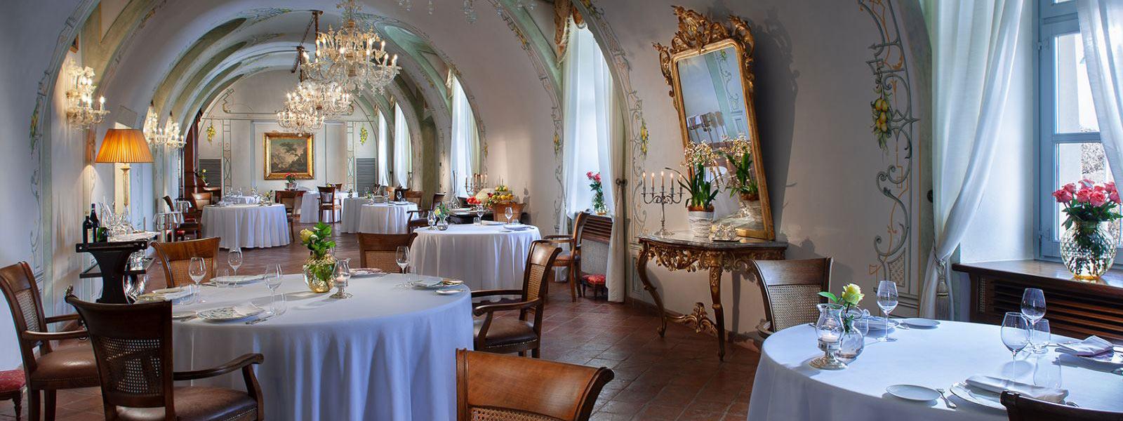 Sala Ristorante del Castello di Guarene