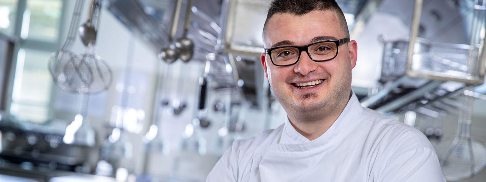 Chef Tommaso Roberto - Ristorante del castello di Guarene