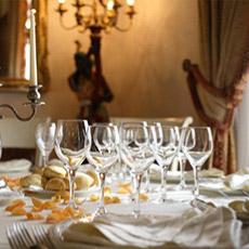 Il ristorante castello di guarene